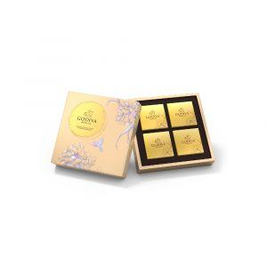 Mid-Autumn Chocolate Mooncake Gift Box 4pcs