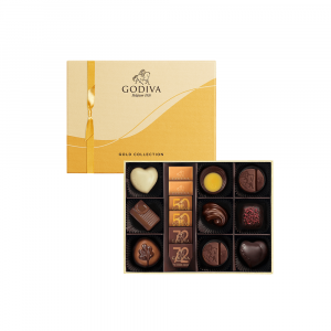Gold Collection Chocolate Gift Box 15pcs