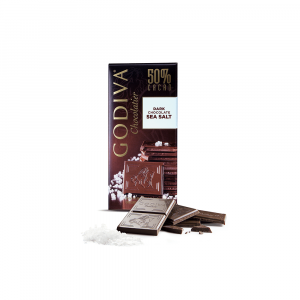 Sea Salt 50% Dark Chocolate Tablet