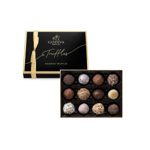 Signature Chocolate Truffles Collection 12pcs